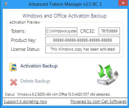 Advanced Token Manager 3.5 RC3
