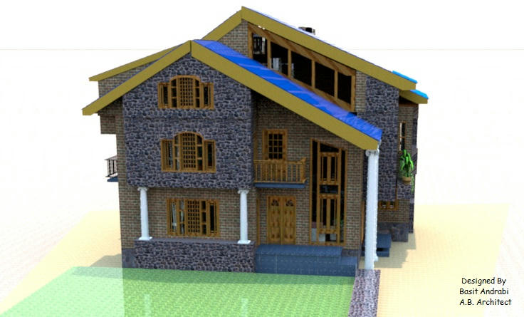Modern kashmiri houses house and home design for Home designs kashmir
