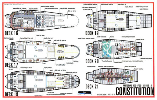 Constitution Class Starship Schematics Trek Blueprints Search Trek. Constitution  Class Starship ...