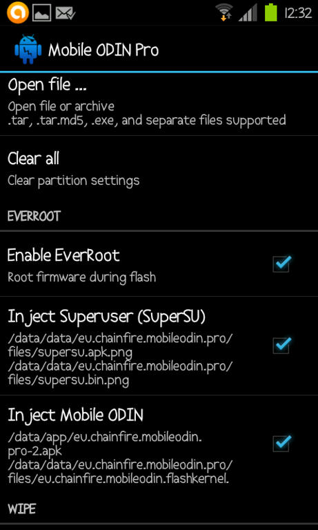 (Aporte) Mobile ODIN Pro v2.40