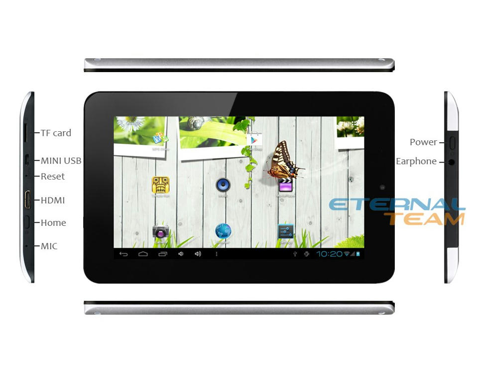 are well v711 dual core tablet pc android 4 0 2x1 5ghz 7 inches ips capacitive 8gb hdmi lives New