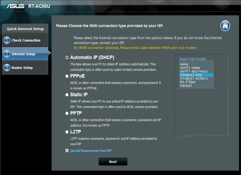 how to find asus rt ac66u mac address