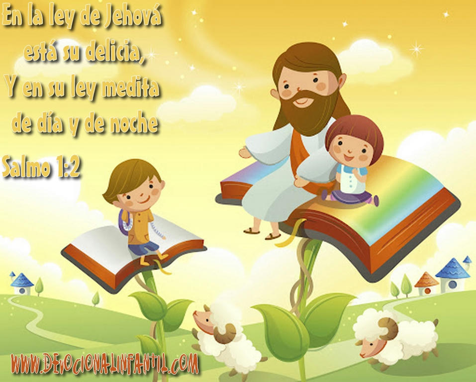 En la ley de Jehová esta su delicia – Wallpapers Infantil