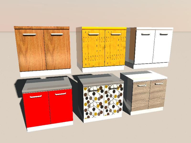 Sweet home 3d forum view thread new kitchen models for Kitchen modeler