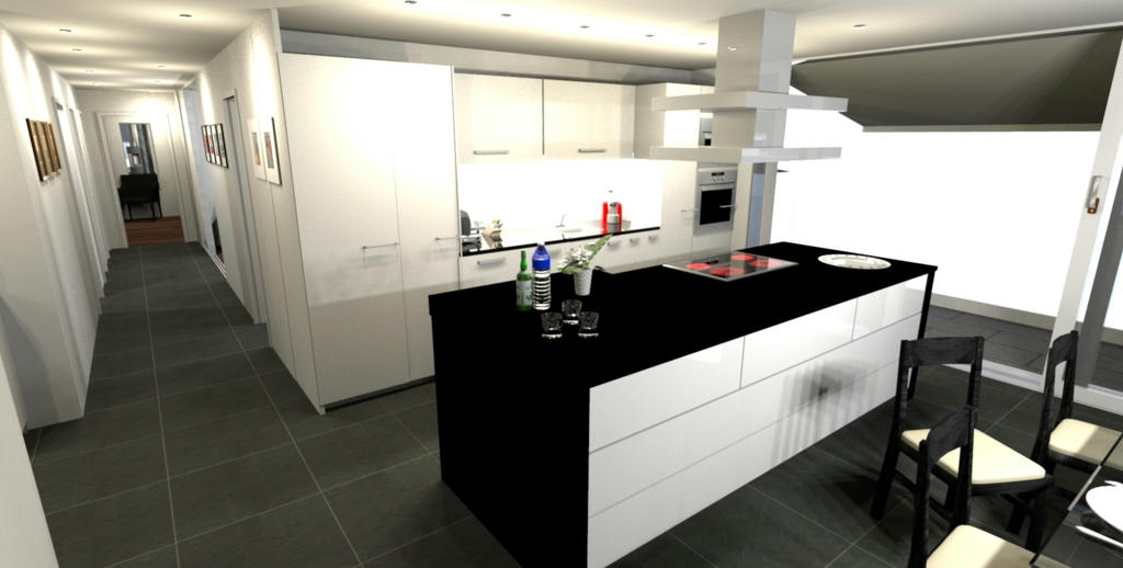 sweet home 3d forum view thread my new flat. Black Bedroom Furniture Sets. Home Design Ideas