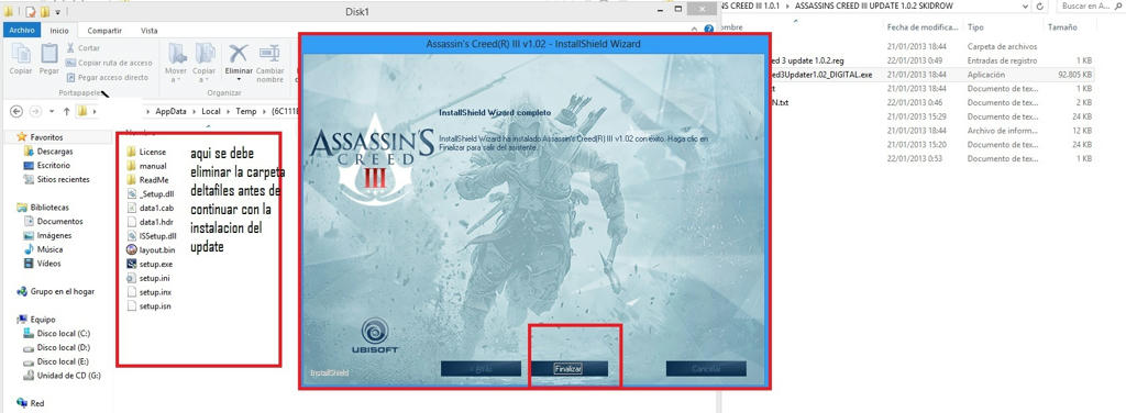 ac3 solution updates install