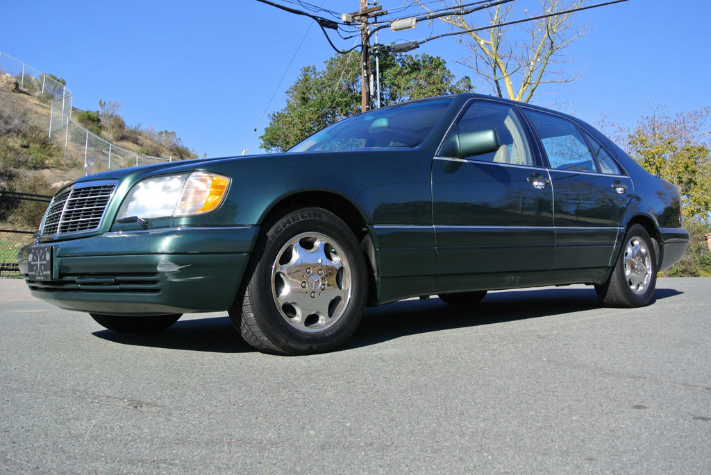 Sell used 1 owner 95 mercedes benz s420 w140 s class big for Mercedes benz s420