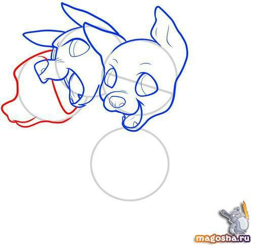 Рисунки карандашом малышей церберов