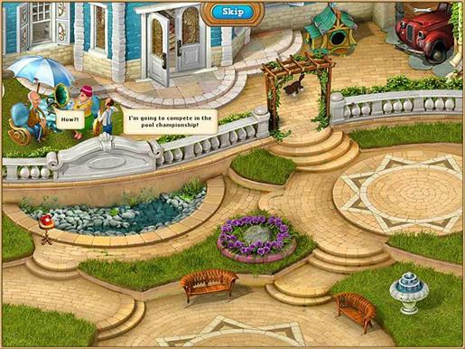 Gardenscapes 2 ภาพตัวอย่าง 02