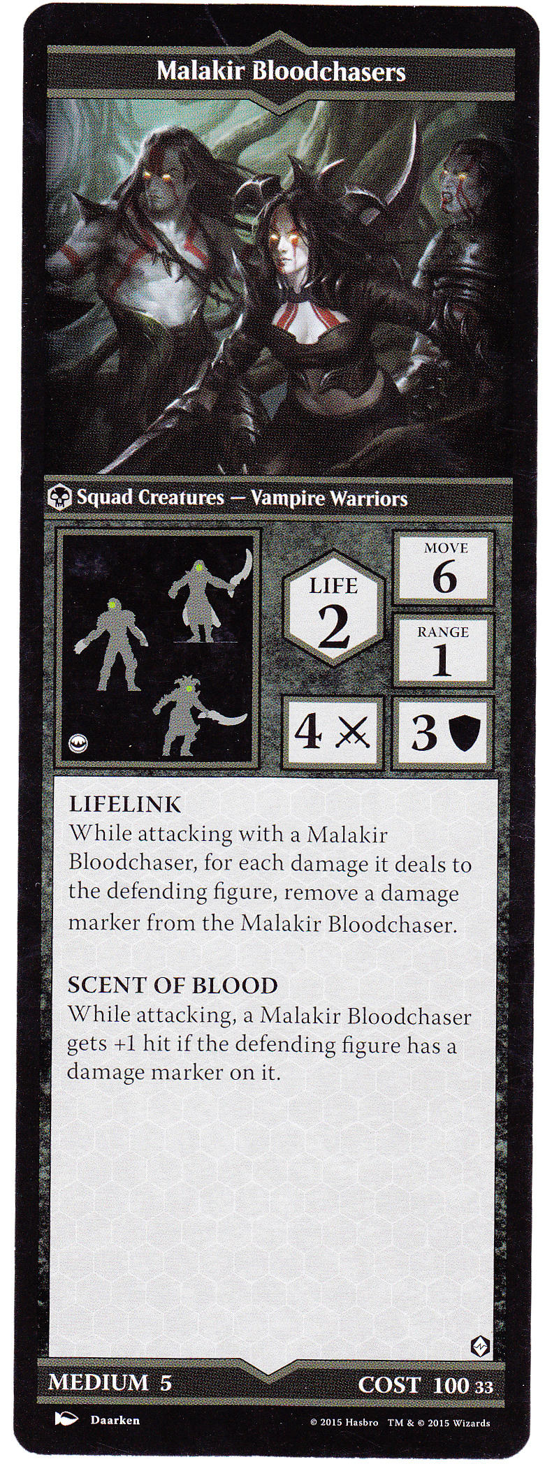 The Book of Malakir Bloodchasers - Heroscapers Planeswalker Arena Custom