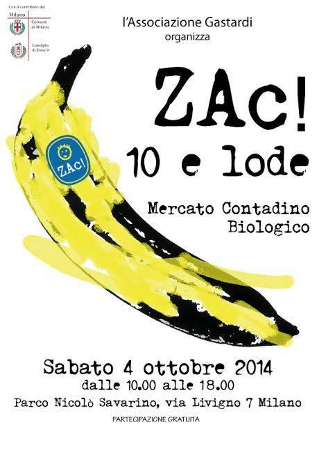 Zac!10 - Volantino