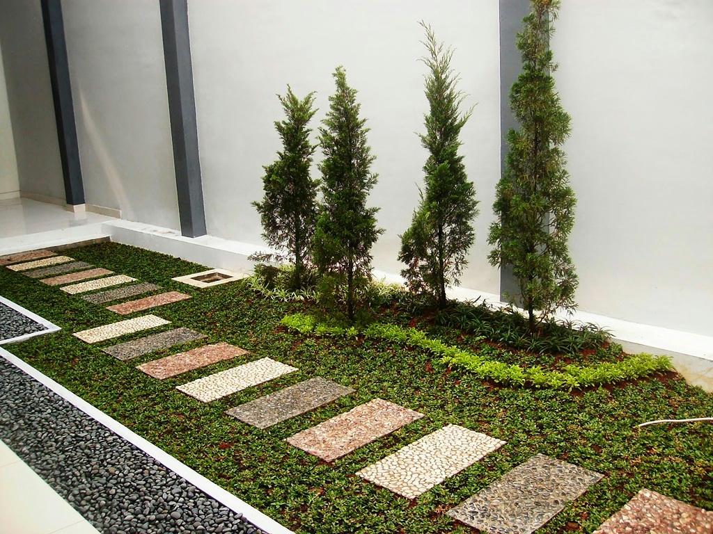 contoh pijakan taman yang menarik creo house