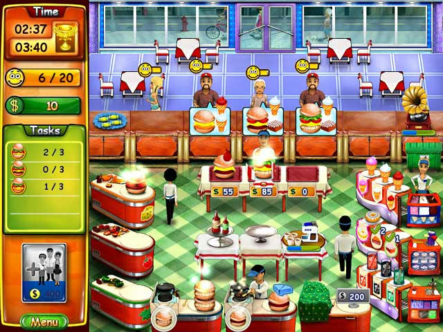Burger Bustle ภาพตัวอย่าง 02