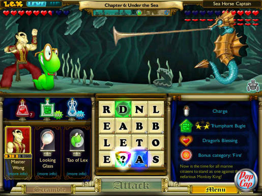 Bookworm Adventures 2 ภาพตัวอย่าง 01