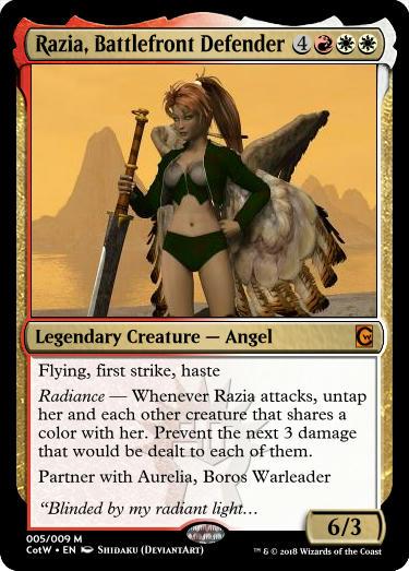 Razia, Battlefront Defender