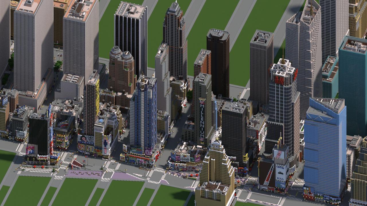 Midtown Manhattan New York City DOWNLOAD V Minecraft Project - New york map in minecraft