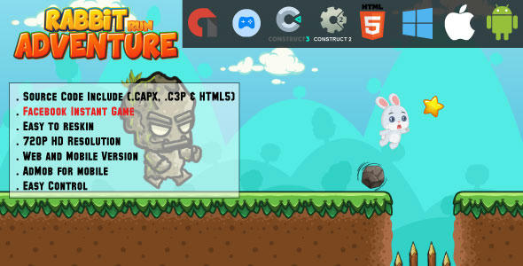 Flappy color birds - HTML5 Game - Web & Mobile + AdMob (CAPX, C3p and HTML5) Download