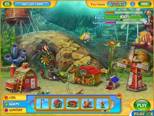 Fishdom 2 ภาพตัวอย่าง 02