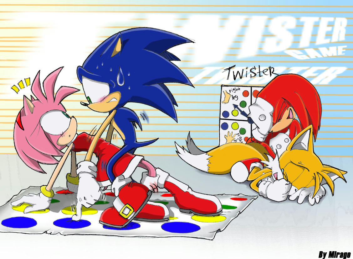 Sonic & Amy_Little Game!