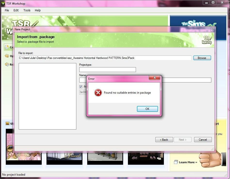 [Débutant] Manipuler TSRW - Convertir un fichier Sims3pack en fichier Package Wa5l57408oh7zapzg