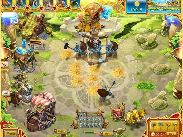 Farm Frenzy - Viking Heroes ภาพตัวอย่าง 02
