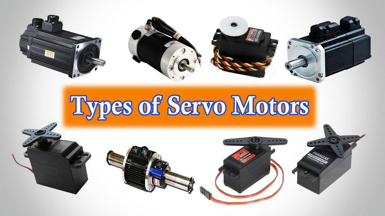 Các loại động cơ Servo