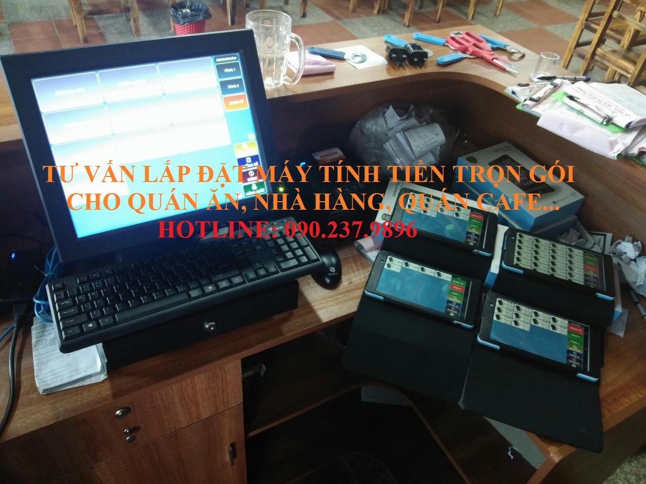Bán máy tính tiền cho quán cafe giá rẻ tại Bình Dương
