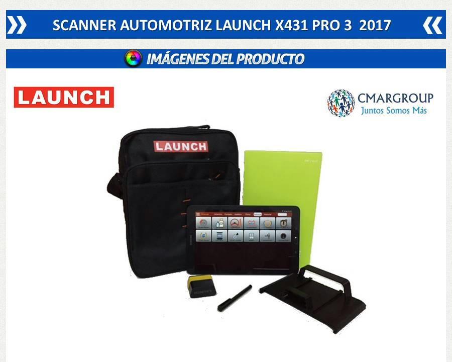 SCANNER LAUNCH PRO3 2017 10