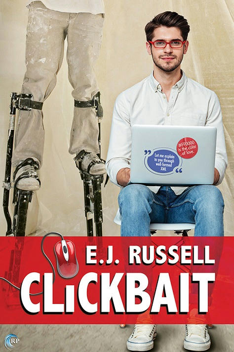 E.J. Russell - Clickbait Cover