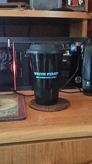 Elizabeth Noble Writing Cup