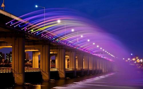 پل بانپو در سئول