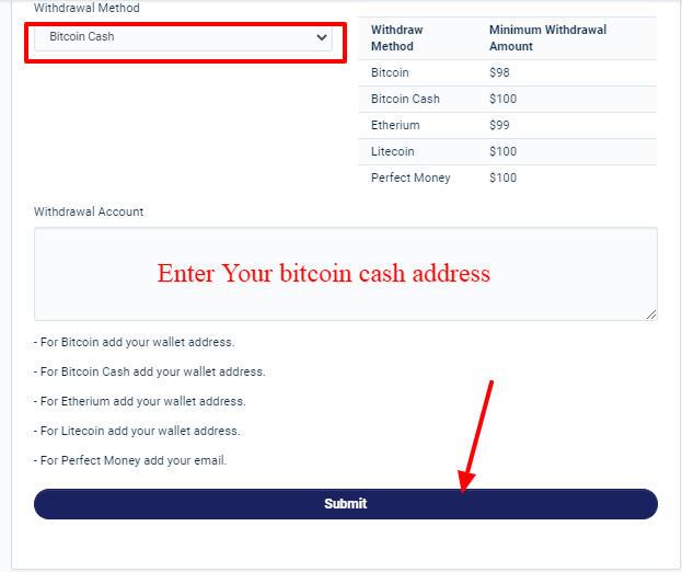 Earn free Bitcoin cash On Cryptoshrink