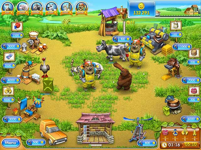 Farm Frenzy 3 - Russian Roulette ภาพตัวอย่าง 03