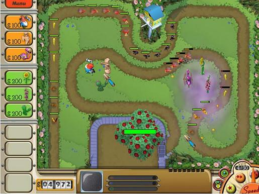 Garden Defense ภาพตัวอย่าง 01