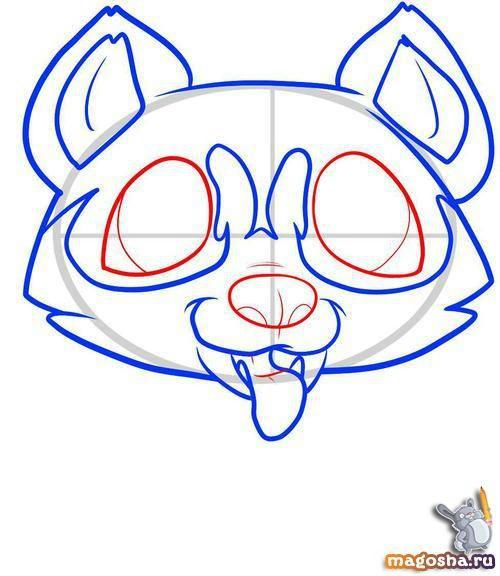 Учим рисовать щенка хаски