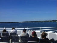 Heading to our Coping with Stress training on Martha's Vineyard