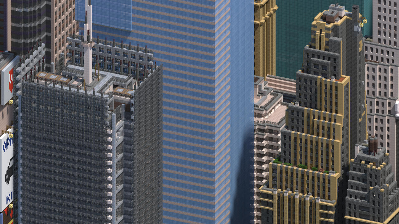 Midtown Manhattan New York City DOWNLOAD V Minecraft Project - Nyc subway map google earth