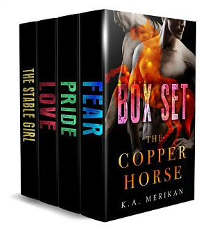 K.A. Merikan - The Copper Horse Boxset Cover s