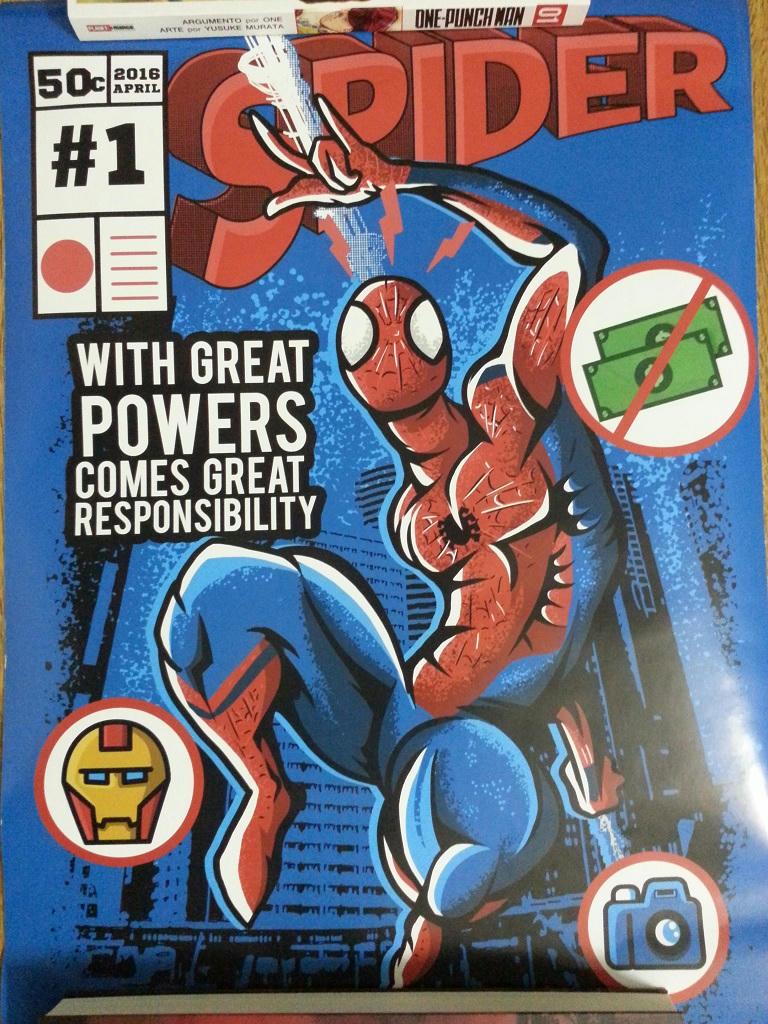 N3 12 - Poster Homem Aranha