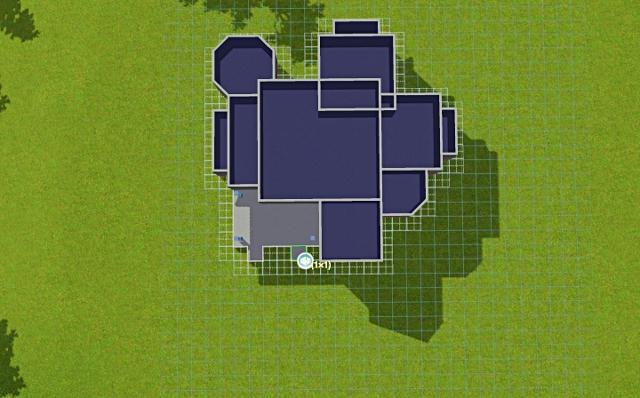 [Débutant] - Du carré à la maison victorienne - La maison bleue 77qed6di80l33txzg