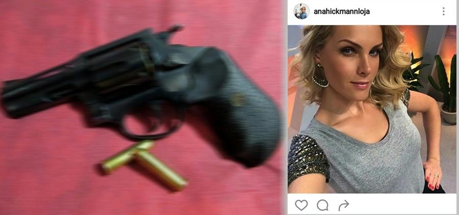 La modelo brasilera Ana Hickmann resultó involucrada en un tiroteo cuando un fan la acosó