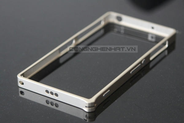 Ốp viền Sony Xperia Z2 Aluminum cao cấp- khóa gài model 2
