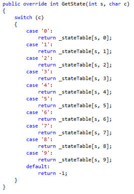 Función GetState ya implementada