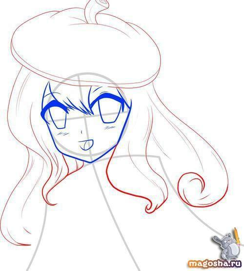 Как нарисовать красивое аниме