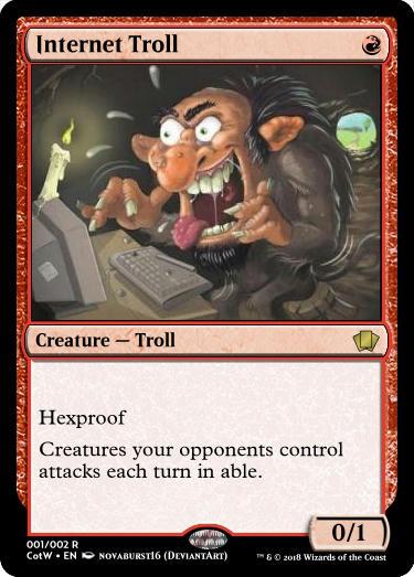Internet Troll card render image