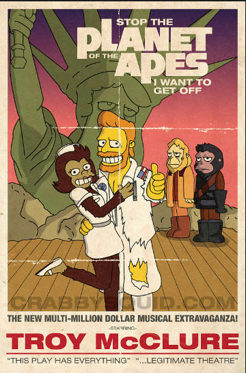 Simpsons Apes