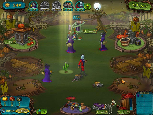 Vampires vs Zombies ภาพตัวอย่าง 02