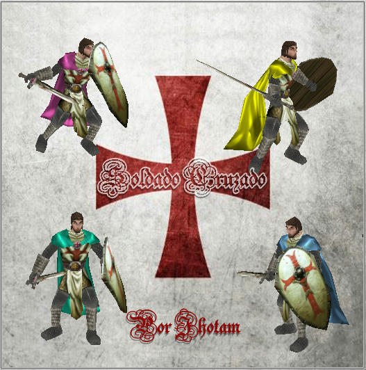 Soldado Cruzado (Templario) _ Por Jhotam Nstqb32dxnolgupfg