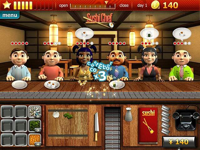 Youda Sushi Chef ภาพตัวอย่าง 01