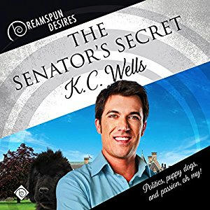 K.C. Wells - The Senator's Secret Cover Audio